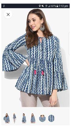 Short Kurti Designs, Simple Kurti Designs, Kurta Designs Women, Blouse Designs, New Kurti Designs, Frock Fashion, Fashion Outfits, Pakistani Dress Design, Pakistani Kurta Designs