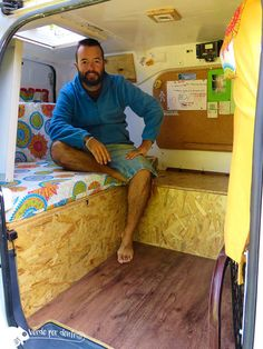 Una furgoneta pequeña bien organizada puede dar mucho de sí!