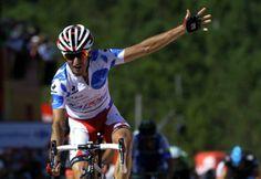 2013 Report Card: Katusha Team - Daniel Moreno (Katusha) celebrates victory in stage 4 of the Vuelta a Espana