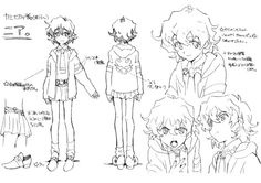 The Magic of Animation Character Model Sheet, Character Modeling, Character Concept, Character Art, Concept Art, Anime Angel, Body Reference Drawing, Art Reference, Gurren Laggan