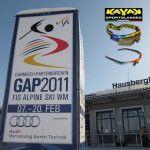 KAYAK SPORTGLASSES: ALPINE SKIING WORLD CUP 2011 GARMISCH PARTENKIRCHEN (GERMANY) airbrushed by Airbrushartstudio
