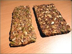 Seed Bar    -1/4 cup of honey  -1 tsp lemon zest  -1/4 cup sesame seeds  -1/4 cup sunflower seeds  -1/4 cup pumpkin seeds  -1/4 cup chia seeds    Slowly bring the honey & lemon zest to a boil. Continue boiling until it forms a thick syrup, about 5 min. Remove from heat and stir in remaining ingredients. Spread hot mixture to form a 6- by 8-inch rectangle on parchment paper and let set for 15-20 min; cut into pieces. Store covered for 7-10 days.    Feel free to get creative with your mix ins!
