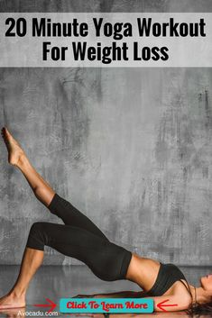 20 Minute Yoga Workout for Weight Loss | Lose Weight with Yoga Exercises For #health, #recipes, #free challenge groups, go to my website or message me… #health #fitness #weightloss #healthyrecipes #weightlossrecipes