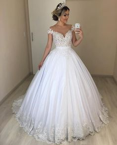 100 Trendy and Hot Sexy Wedding Dresses 2019 – Page 2 – Wedding to Amaze Wedding Gown ball gown wedding dress Wedding Dress Buttons, Top Wedding Dresses, Wedding Dress Trends, Princess Wedding Dresses, Bridal Dresses, Wedding Ideas, Princess Bride Dress, Ball Gown Wedding Dresses, Poofy Wedding Dress