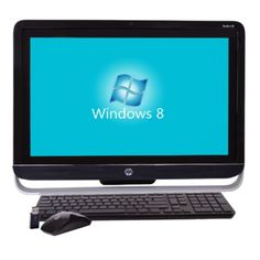 HP Pavilion 23-f213w TouchSmart 23 1080p Fusion Dual-Core A6-6400K 3.9GHz All-in-One PC -4GB 1TB DVD±RW/W8/Cam