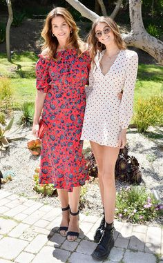 Cindy Crawford & Kaia Gerber from The Big Picture: Today's Hot Photos  Happy Mother's Day! The model mother and daughterhost Best Buddies Mother's Day Brunch in Malibu.