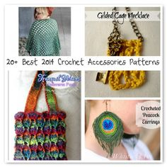 Looking to #crochet some accessories for yourself? Here are 20 of the best patterns.