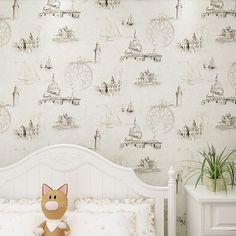36.00$  Buy now - http://alivrd.shopchina.info/1/go.php?t=32241432396 - European Castle Retro Mural  for Children  Baby Boy Room Wall Paper Roll Decor Kids boys bedroom wallpaper 36.00$ #aliexpressideas