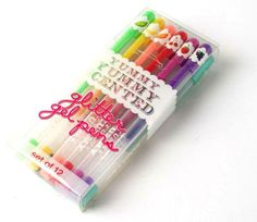 Yummy Yummy Assorted Scented Gel Pens - Set of 12