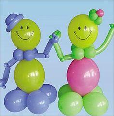 1000 images about decoracion con globos on pinterest for Decoracion de globos para fiestas infantiles paso a paso