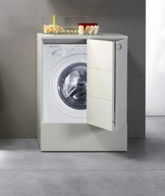 mobile lavatrice asciugatrice ikea - Cerca con Google Washing Machine, Sweet Home, Home Appliances, House Styles, Google, Bathrooms, Home Decor, Houses, House Appliances