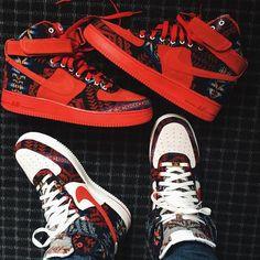 online retailer 0c3e7 2f81a Custom Nike Air Force One High Mode Hip Hop, Bling Nike Shoes, Nike Air