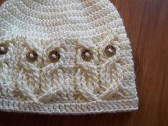 It's a Hoot! an Owl Hat pattern by Carlinda Lewis  (Ravelry pattern $5.99)