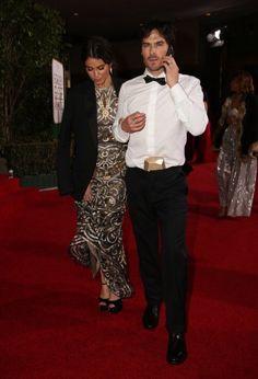 Nikki Reed Somerhalder and Ian Somerhalder leaving Golden Globes Afterparty~ Sunday 01/10/16 in LA