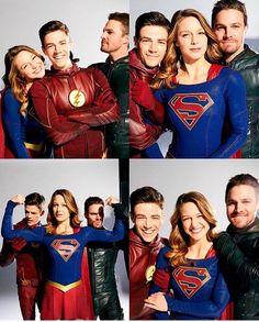 Grant never stops smiling! Superhero Shows, Superhero Memes, Supergirl Tv, Supergirl And Flash, Marvel Dc, Legends Of Tomorrow Cast, Snow Queen, Good Cartoons, Melissa Marie Benoist