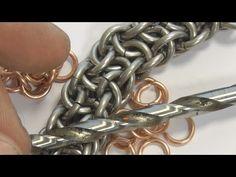 VIPERA BERUS CHAIN MAILLE TUTORIAL - YouTube