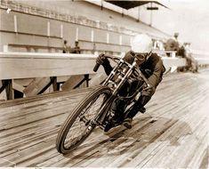Harley Davidson photo vintage motorcycle motordrome racing antique photo PRINT, poster 1920s