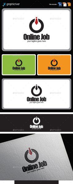 Online Job Logo Templates