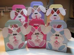 Easter Bunny Boxes!