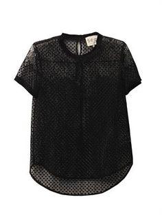 SEA lace t-shirt