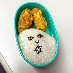 """My lunch box is excellent! What brought """"My wife did not make me"""" - grape [Grape] Food Menu Design, Just For Laughs, Food Art, Lunch Box, Funny Pictures, Food And Drink, Cooking, Recipes, Funny Stuff"""