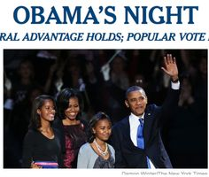 Great Speech: President Obama in Chicago. {+ Gov. Romney's Concession Complete Video}