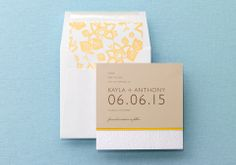 BRIDES Fine Wedding Papers - BRIDES Magazine Wedding Invitations