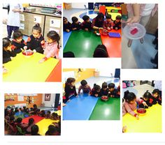 The early learners of Nursery did a hands on activity for the letter 'j' by making a 'jelly' in the class. They enthusiastically participated in the activity and later on ate the jelly as well.