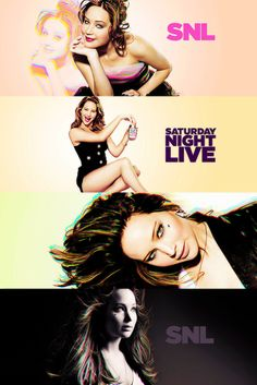 Jennifer Lawrence SNL bumpers