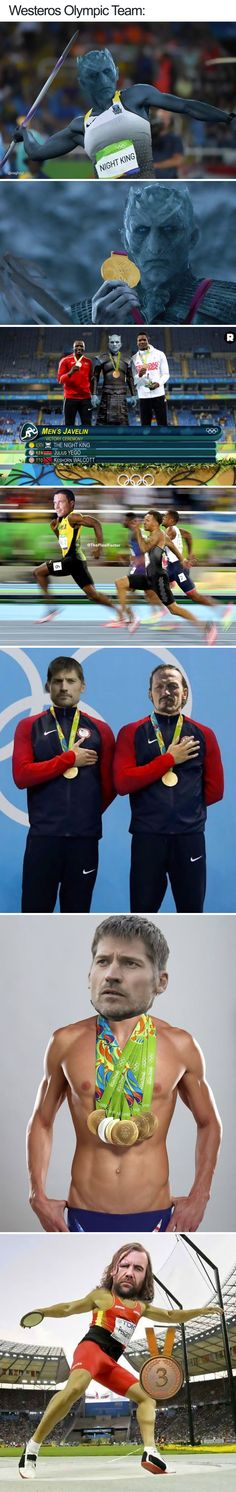 Westeros Olympic Team #GameOfThrones #Got #funny