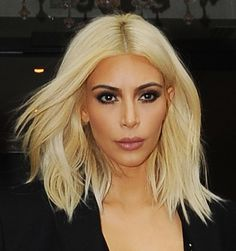 kim kardashian shoulder length hair - Google Search