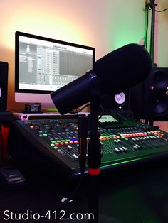 Recording Studio, Music Production, Live Music, Microphone, Shure SM7B