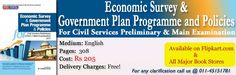 Economic Survey & Government Plan Programme and Policies for Civil Services Preliminary (CSAT) & Main Examinations