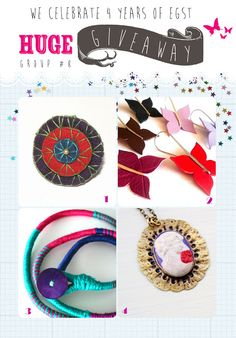 4 years EGST!!! HUGE GIVEAWAY CELEBRATION!!! Giveaways, Washer Necklace, Crochet Earrings, Greeks, 4 Years, Street, Celebrities, Competition, Goodies