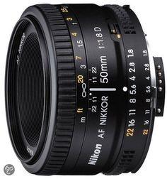 Nikon AF 50mm - f/1.8D - lens met vast brandpunt - 146 €