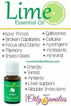 Young Living Essential Oils - Lime