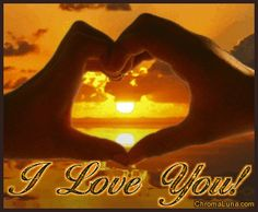 Another love image: (i_love_you_reflecting_sunset_with_clasped_hands) for MySpace from ChromaLuna