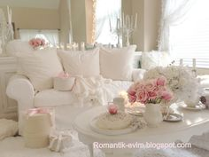 Shabby Chic Home ~ Romantik Evim