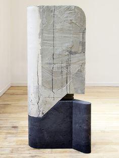 Balimidor , 2014 béton, mousse et bois / concrete, foam, and wood 114 x 53,5 x 30,5 cm / 45 x 21 x 12 in