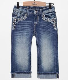 Girls - Miss Me Cropped Jean - Girl's Crops | Buckle