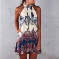COMING SOON boho dress COMING SOON Boho dress. Brand new, in packaging! Like this and you will be notified when available! Price will be $40. Size Small and Medium will be available. Not free people, for visibility Free People Dresses Mini