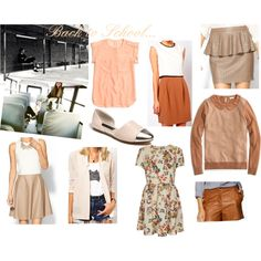 back to school for under $100 collage neutrals for under $100. fall closet additions for under $100