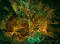 Kaleidoscope by Dosia McKay - digital art, giclee print on paper or canvas #decor #decorating #print #modernart