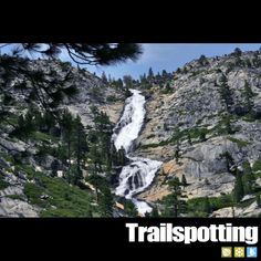 Horsetail Falls, Lake Tahoe