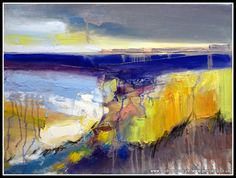 Gena Ivanov painted intense landscape
