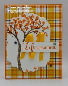 Stampin' Up! Life is Beautiful Sneak Peek | Creative Stamping Designs