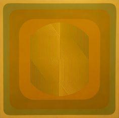 Interaction No. 10, 1969, acrylic on canvas, Ary Brizzi, Argentina