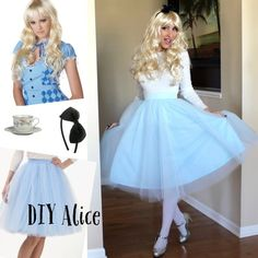 DIY Alice in Wonderland costume! #DIY #DisneyCostume