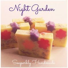 This gorgeous colourful soap bar has a lovely fragrance of Jasmine, Tuberose, Lavender and Forest Flowers. Reminiscent of a warm Summer evening! A lovely soap bar to use in the shower. SLS and Paraben free.  Approx. weight 115g  All items can be delivered to selected countries, if yours isnt listed please contact me, and I can let you know the cost of postage. Fixed postage cost - order as much as you like for the same price