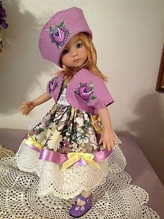 Handmade Doll Dress for Dianna Effner Little Darling, Betsy McCall,Kish Bethany